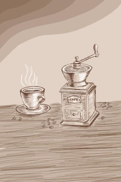 Café house  | Sylvia | Digital Drawing | PENUP