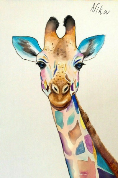 giraffe  | Nika | Digital Drawing | PENUP