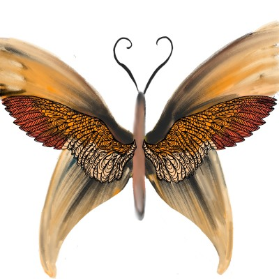 butterfly | Katy | Digital Drawing | PENUP