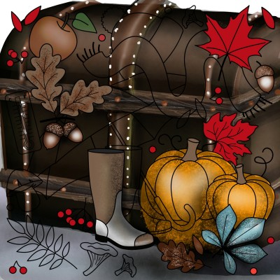 Autumn stuff | ramdan1111 | Digital Drawing | PENUP