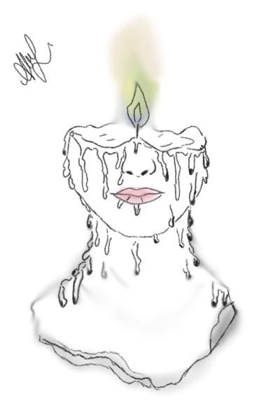 sometimes heart burns humans till they melt   dody   Digital Drawing   PENUP