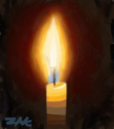 candle  | zak | Digital Drawing | PENUP