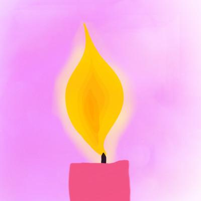 Candle For Lent | 3CJC | Digital Drawing | PENUP