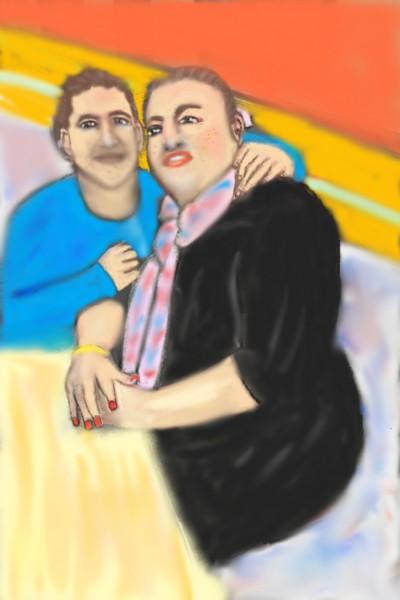 A Lovely Couple    Nessarocks09   Digital Drawing   PENUP