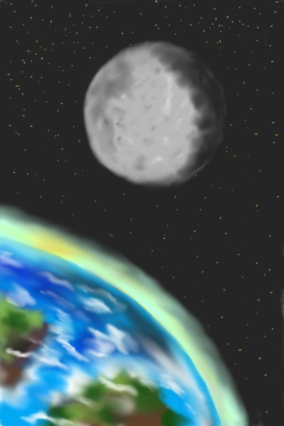 to the moon | NorianArt | Digital Drawing | PENUP