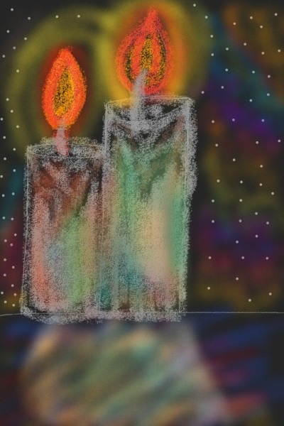 candle in dream world | AarushSharma | Digital Drawing | PENUP