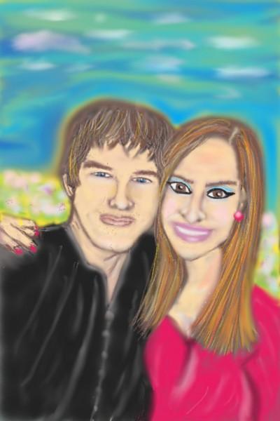 Lovely Couple #2 | Nessarocks09 | Digital Drawing | PENUP