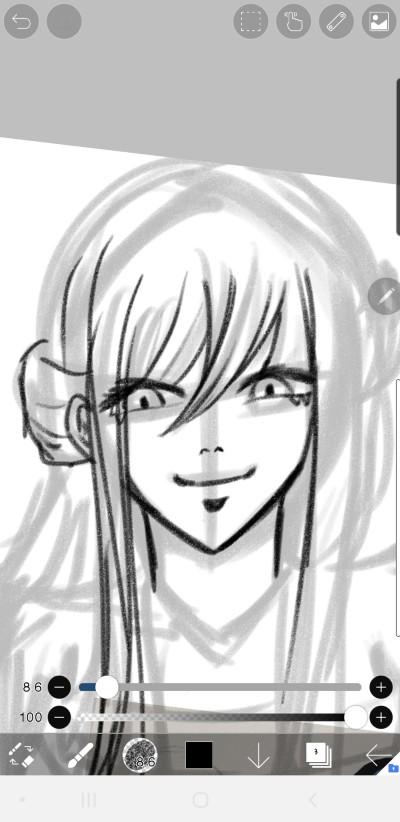 저는 전적으로 여자가 좋습니다   SILVER_BIN   Digital Drawing   PENUP