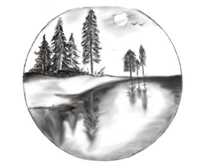 Landscape Digital Drawing | karuna | PENUP