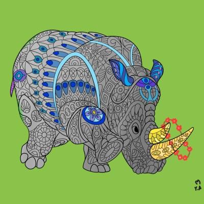 Coloring Digital Drawing | Yalda.A | PENUP