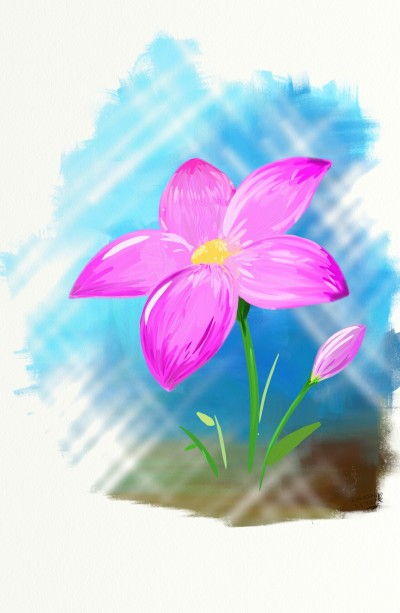pink flower | usk_keesunge | Digital Drawing | PENUP