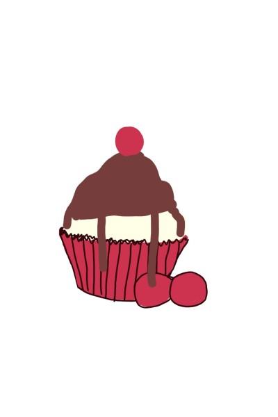A cupcake | Peopleperson | Digital Drawing | PENUP