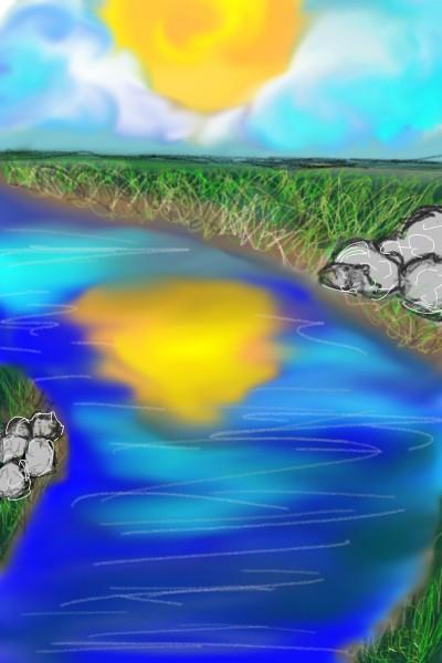 Sunny riverside  | christopherson | Digital Drawing | PENUP