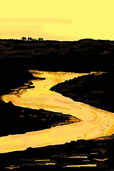 The Nile Rriver | AntoineKhanji | Digital Drawing | PENUP