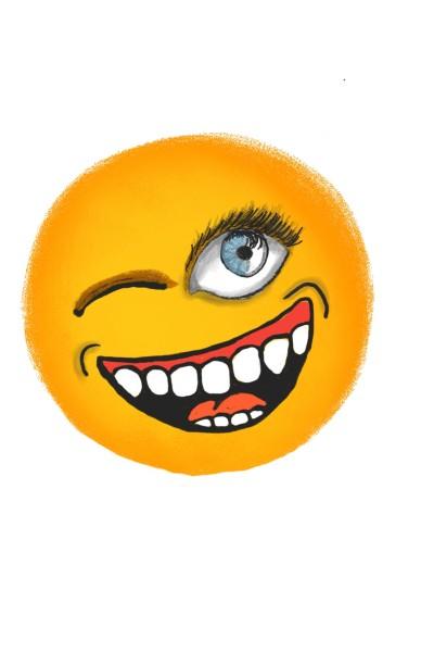 Emoji olhar   Daniellsamorim   Digital Drawing   PENUP