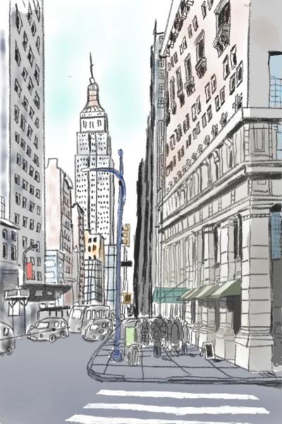 city | ace | Digital Drawing | PENUP