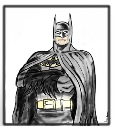 Batman, 'lets draw superheroes ' | arpu | Digital Drawing | PENUP