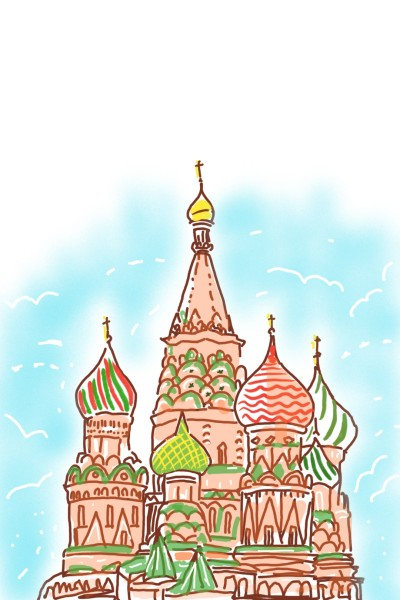 Russian Architecture  | Sylvia | Digital Drawing | PENUP
