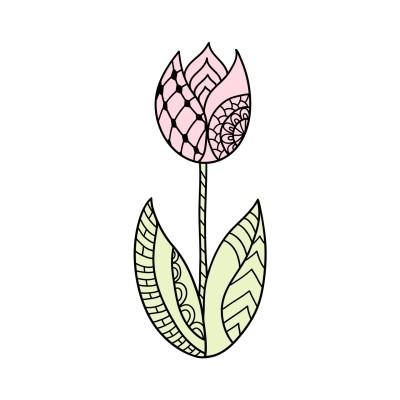 튤립 | Sunset_MOON | Digital Drawing | PENUP