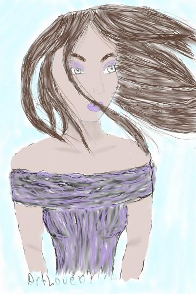 collab w/ ArtLover | Rhonda | Digital Drawing | PENUP