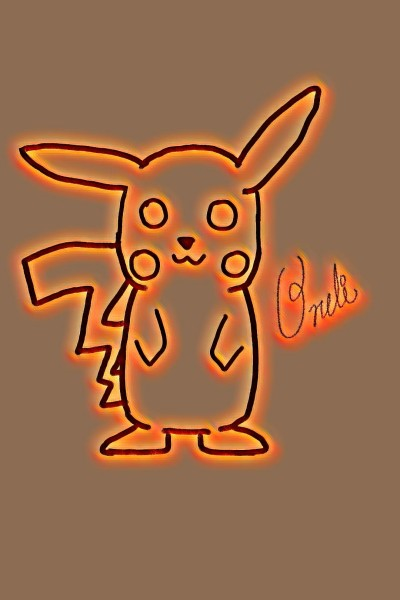 Pikachu | Oneli | Digital Drawing | PENUP