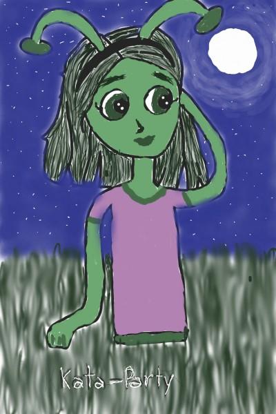 collab w/Kata_Party   Rhonda   Digital Drawing   PENUP