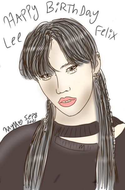 ♡happy Felix day♡ | k.a.y.l.a | Digital Drawing | PENUP