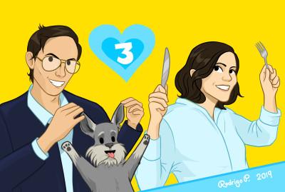 """Charly & Inés"" | RodrigoP. | Digital Drawing | PENUP"