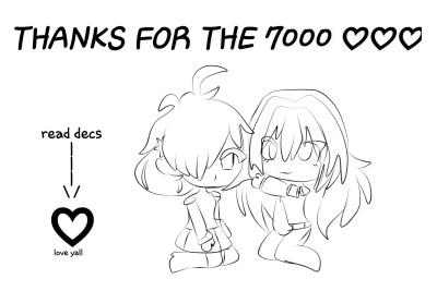 ♡♡7000♡♡ | Reckles-Ibuki | Digital Drawing | PENUP