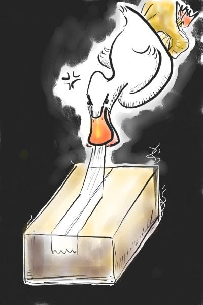 Duck Tape! | LarbKoy | Digital Drawing | PENUP