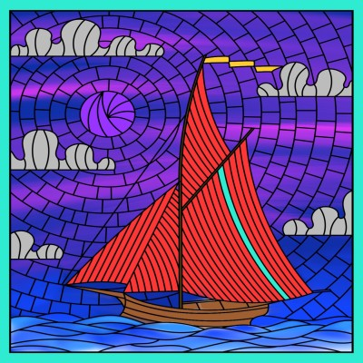 Boat   A.K.G_INDIA   Digital Drawing   PENUP