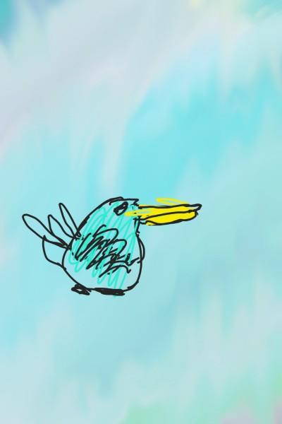 Duck!!   guinea-pig   Digital Drawing   PENUP
