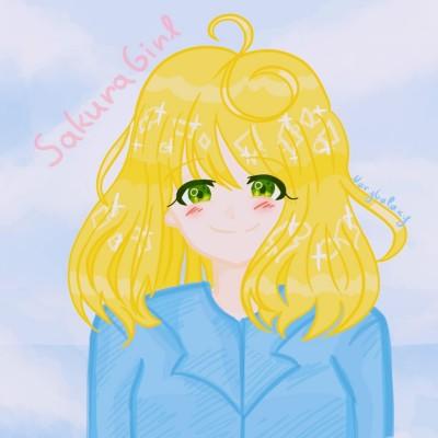 SakuraGirl | MaryGalaxy | Digital Drawing | PENUP