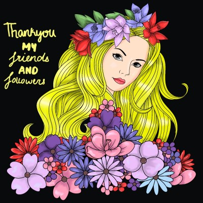 A gift to all my friends on penup♡   ArtLover   Digital Drawing   PENUP