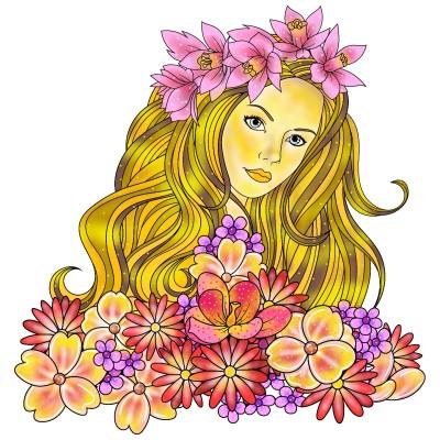 Spring   Luxurymapss.com   Digital Drawing   PENUP