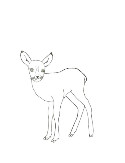 What / who is the little deer waiting for? | sherlock | Digital Drawing | PENUP