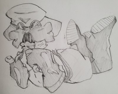 quick sketch of pyro  | Bobiking | Digital Drawing | PENUP