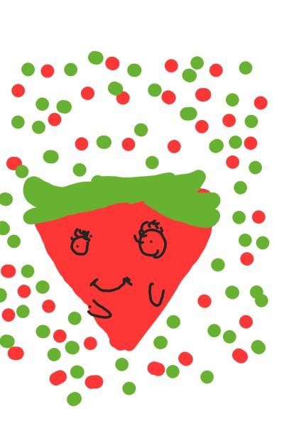 kleine Erdbeer   Momo   Digital Drawing   PENUP