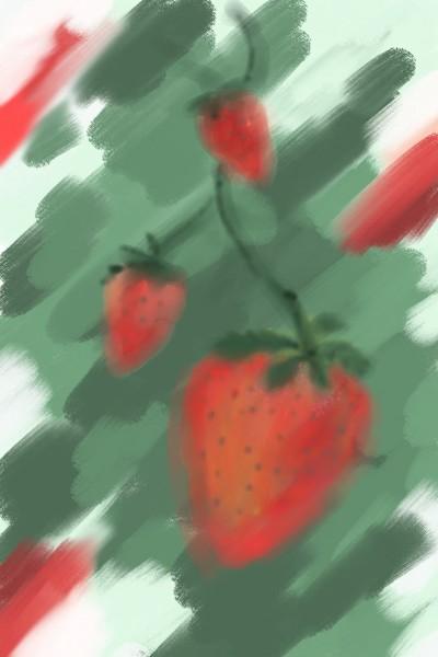 Erdbeeren  | The_Sorg | Digital Drawing | PENUP
