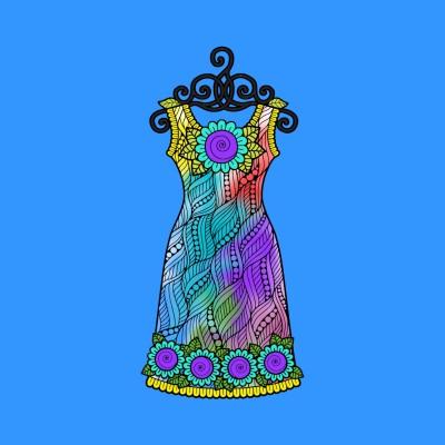 Colorful dress | A.KGandhi_INDIA | Digital Drawing | PENUP