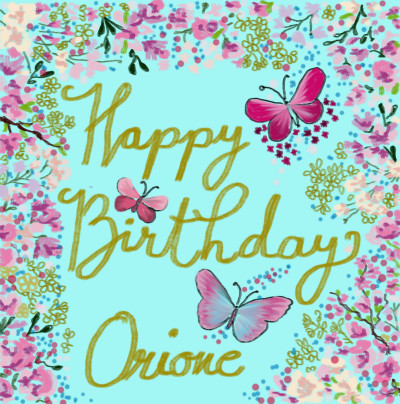 Happy Birthday Orione♡♡♡♡♡♡♡ | sherlock | Digital Drawing | PENUP
