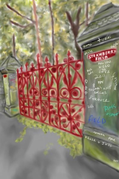 Strawberry Fields | Mark349 | Digital Drawing | PENUP