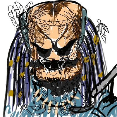 predator  | OmrGhabban | Digital Drawing | PENUP