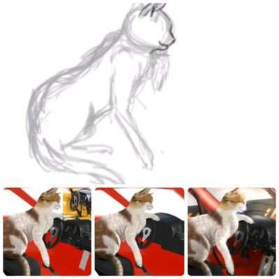 Step by step request by JonathanProJay | Cat_who_draws | Digital Drawing | PENUP