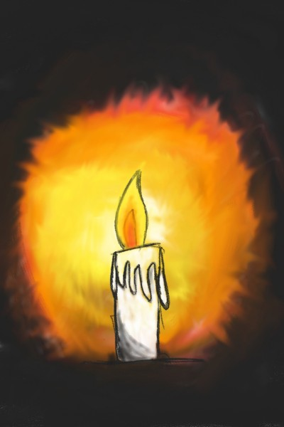 lightly candle | BoonhowChew | Digital Drawing | PENUP