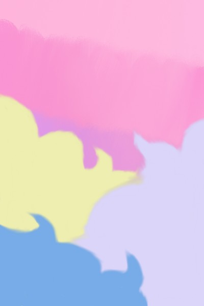 Multicolored Clouds   inky   Digital Drawing   PENUP