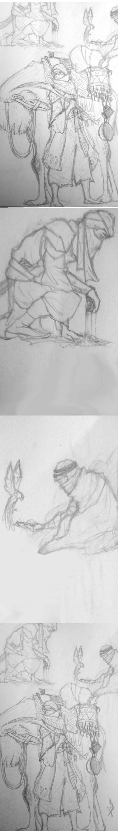 some desert dudes  | Llama_Lord | Digital Drawing | PENUP