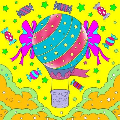 Balão  | milenalivia | Digital Drawing | PENUP