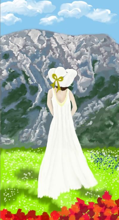 Dreaming Girl collab with srijani | sherlock | Digital Drawing | PENUP