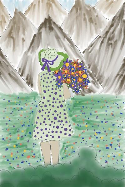 collab w/srijani | Rhonda | Digital Drawing | PENUP
